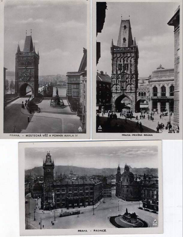 PRAGUE . Tchécoslovaquie