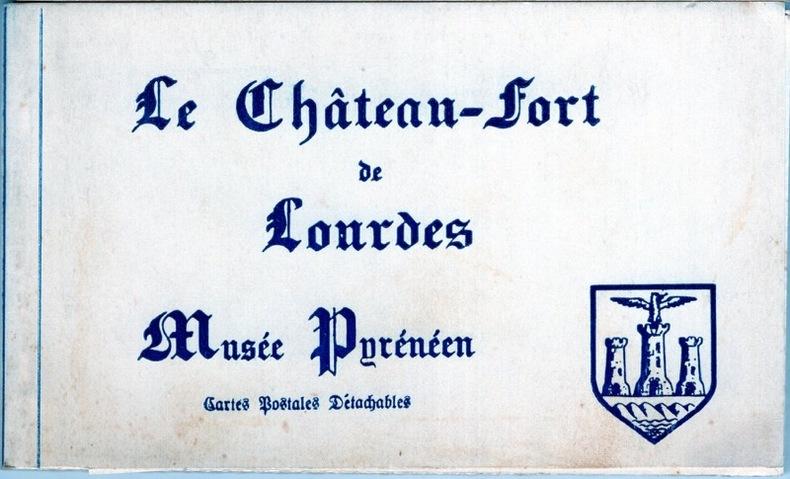LE CHÂTEAU FORT DE LOURDES .. Hautes-Pyrénées
