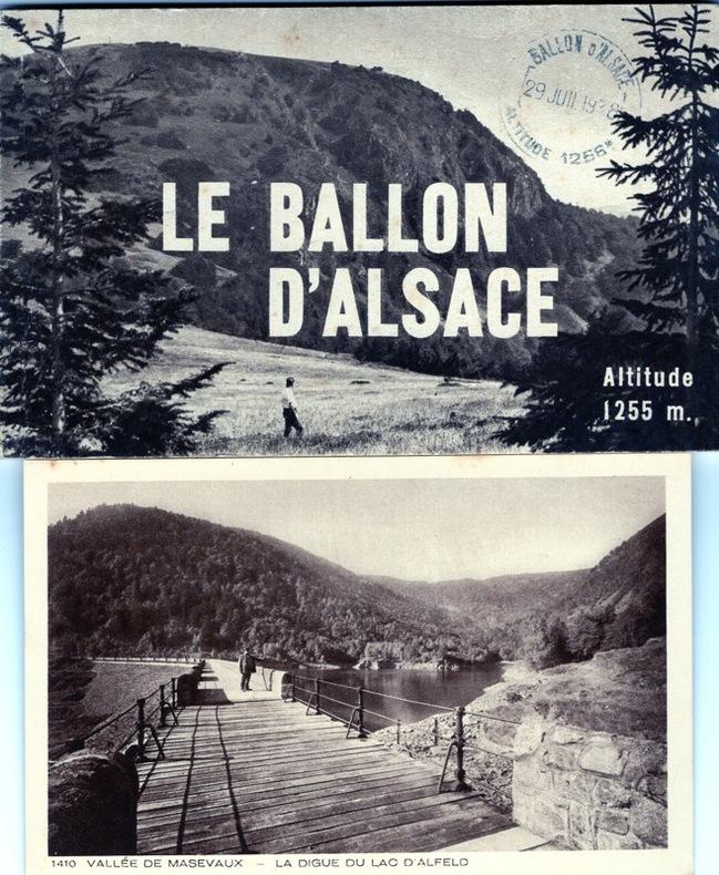 le ballon d' Alsace .. Alsace