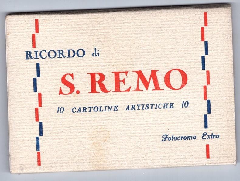SAN REMO.  Italie