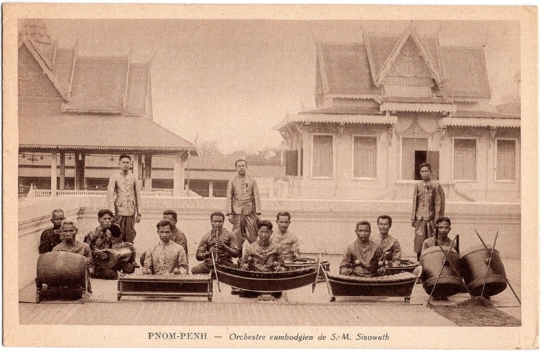 PNOM-PENH - Orchestre cambodgien de S.M. Sisowath .. Cambodge