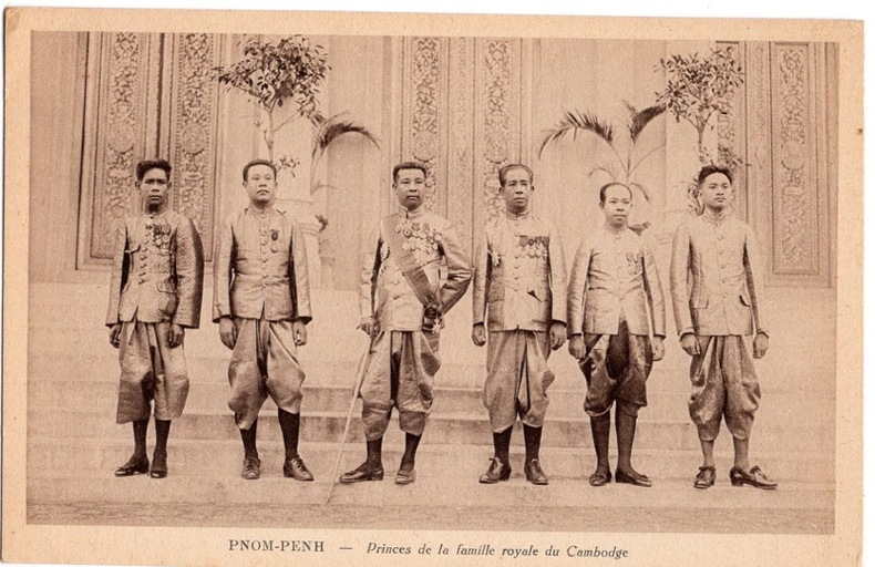 PNOM-PENH , Princes de la famille royale du Cambodge. Cambodge
