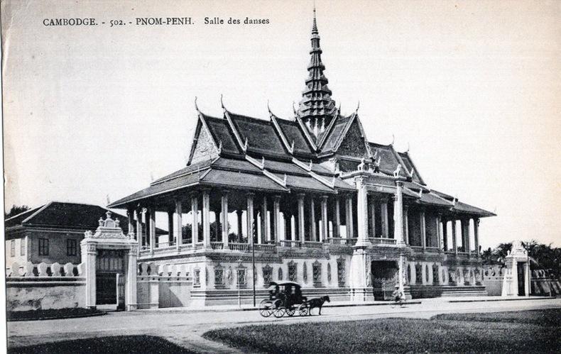 Cambodge, Pnom-Penh, Salle des danses .. Cambodge