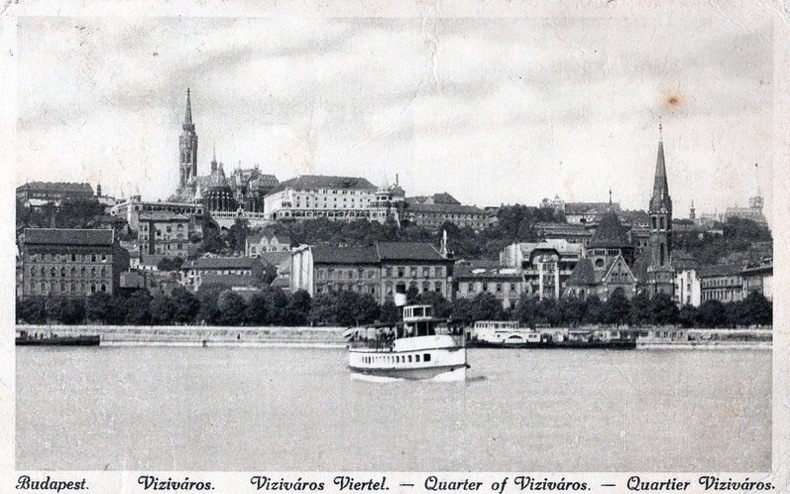 BUDAPEST, Quartier Vizivaros. Hongrie
