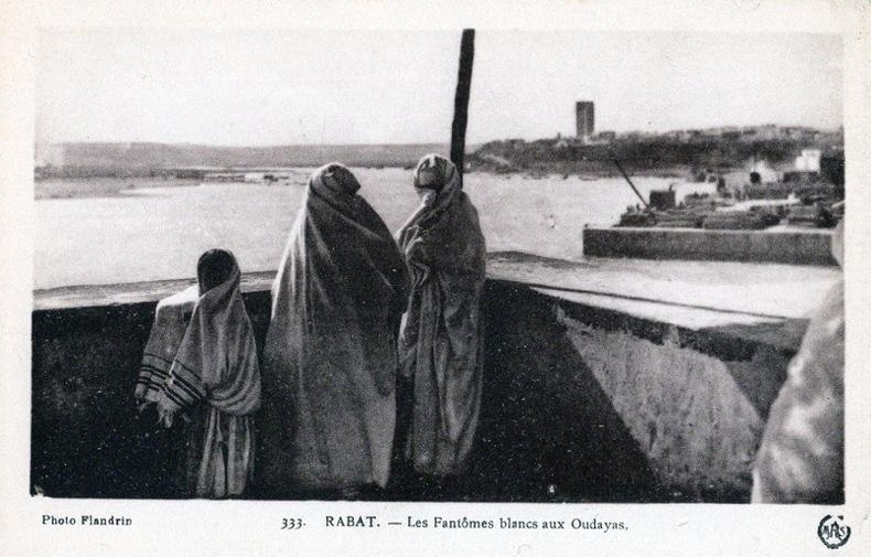 RABAT ,  les Fantômes blancs aux Oudayas .. Maroc