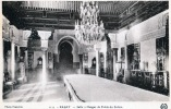 RABAT ,  salle à manger du palais du Sultan ,. Maroc