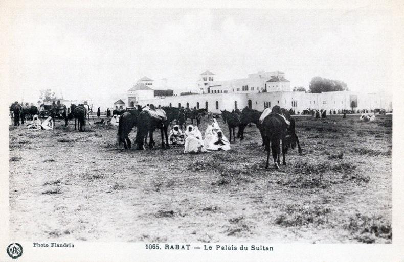 RABAT ,  le palais du Sultan, . Maroc