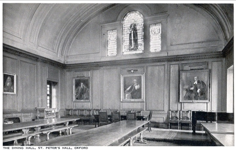 OXFORD , Dining Hall, St Peter's Hall ,. Angleterre