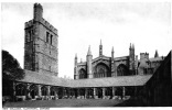 OXFORD , New College Cloisters. Angleterre