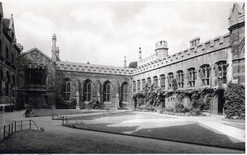 OXFORD , Balliol College. Angleterre