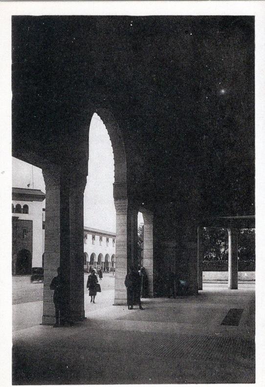 RABAT , Les voûtes de banque d' état, . Maroc