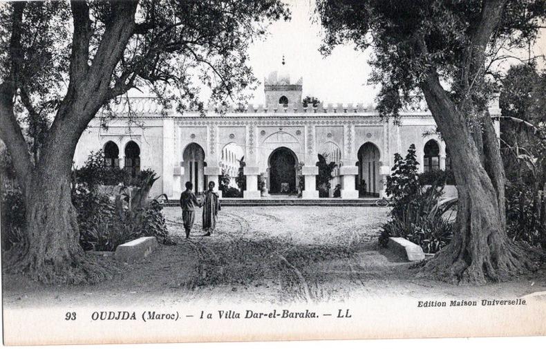 OUJDA, la villa Dar-el-Baraka. Maroc