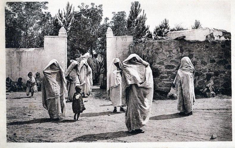 OUJDA, la promenade du Harem, . Maroc