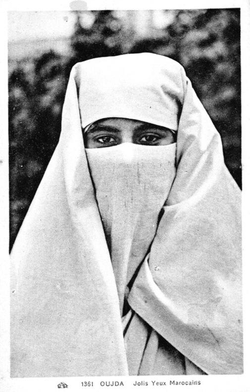 OUJDA, jolis yeux marocains. Maroc