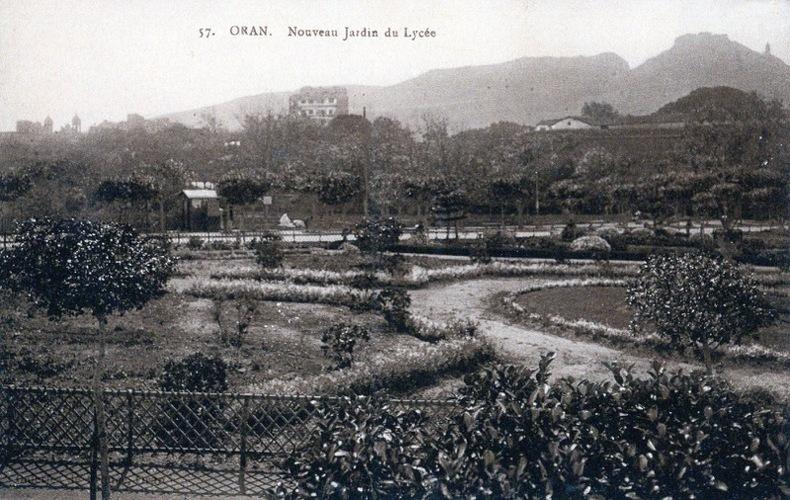 ORAN, Nouveau jardin du lycée. Algérie