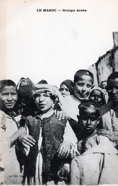 MAROC , Groupe arabe,. Maroc