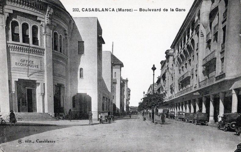 CASABLANCA , Boulevard de la gare .. Maroc