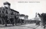 CASABLANCA , Boulevard du 4e Zouaves, la banque d'état du Maroc, . Maroc