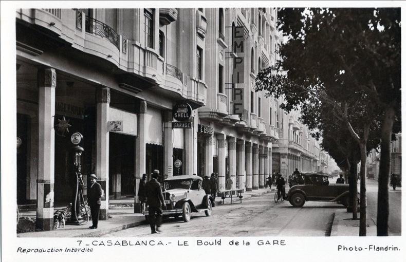 CASABLANCA ,  Boulevard de la gare, . Flandrin