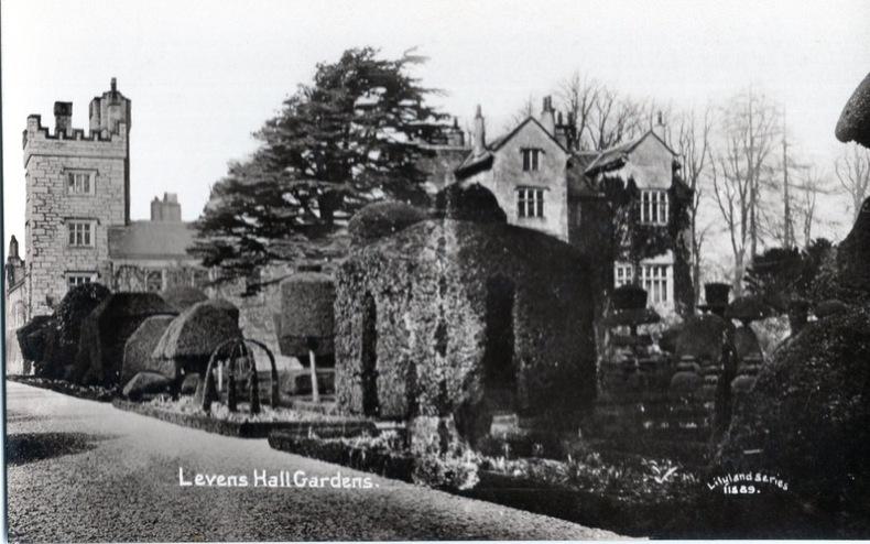 LEVENS HALL,  Gardens. Angleterre