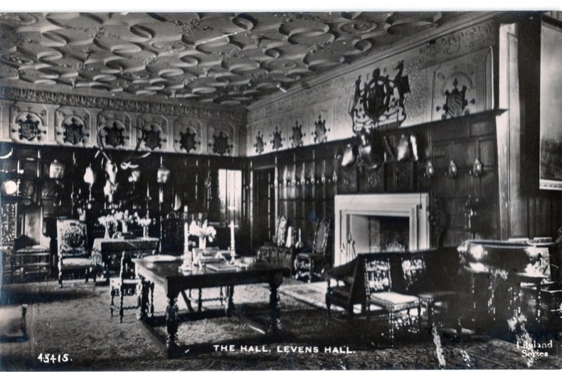 LEVENS HALL , the Hall. Angleterre