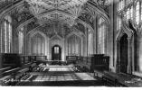OXFORD , DIVINITY SCHOOL. Angleterre