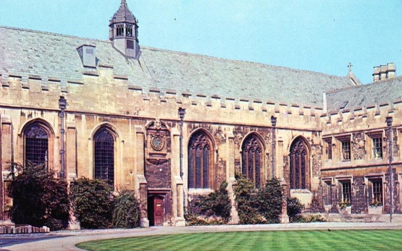OXFORD , JOHN'S COLLEGE CHAPEL,. Angleterre