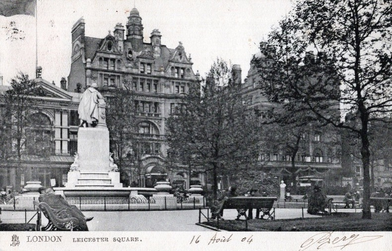 LONDON, Leicester square. Angleterre