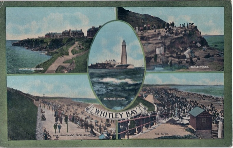 WHITLEY BAY. Angleterre
