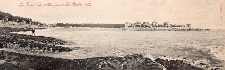 ST PALAIS SUR MER , la Conche du Bureau. Charente Maritimes