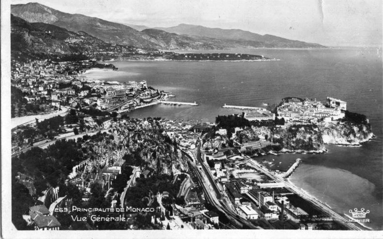 Monaco , Principauté de Monaco, Vue générale.. Monaco