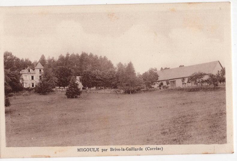 MIGOULE , par Brive-la-Gaillarde. Guionie