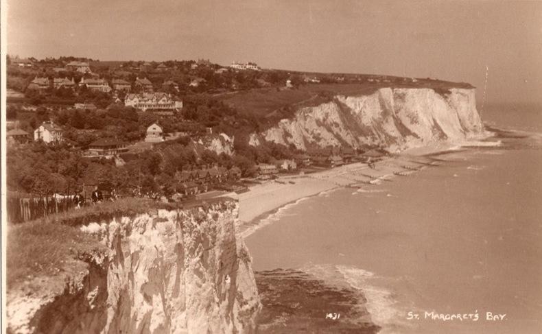 St Margarets's Bay. Angleterre