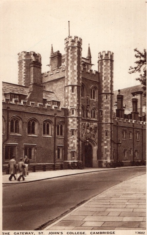 CAMBRIDGE , St JOHN'S COLLEGE. Angleterre