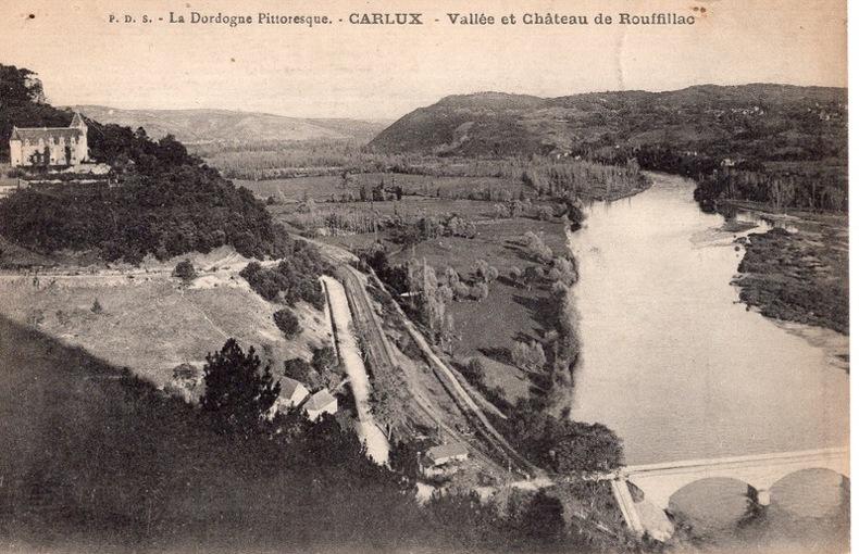CARLUX , Vallée et Chateaux de Rouffillac. Dordogne