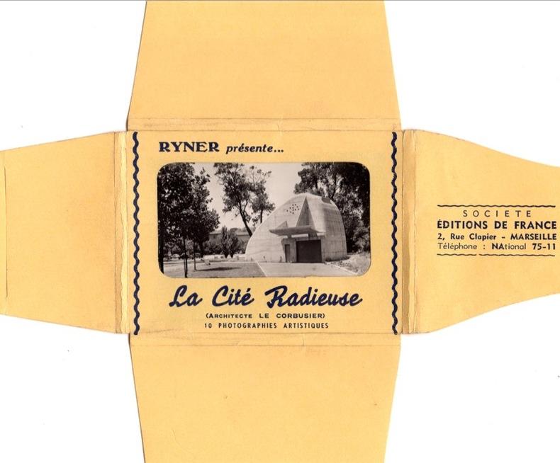 Le Corbusier , la Cité Radieuse. Le Corbusier