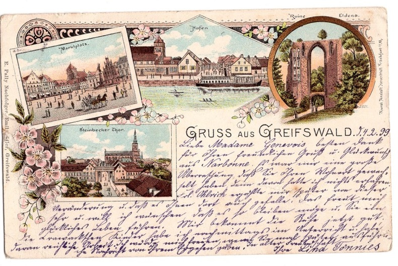 Greifswald . Allemagne
