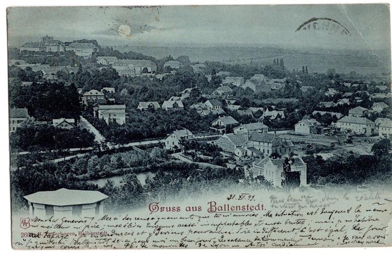 Ballenstedt. Allemagne