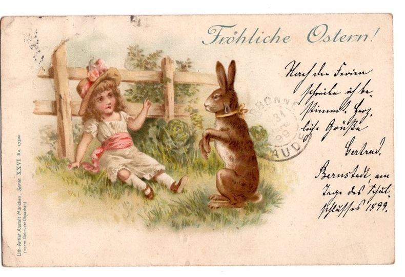 Frohliche Ostern !.