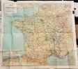Carte des Chemins-de-fer.-. TARIDE. [CHEMINS DE FER].-