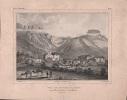 Vue du bourg d'Adexe & des rochers d'Hio et de Carasco (Ténériffe).-. [ILES CANARIES].-