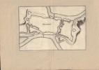 Plan de Mezieres. Gravure XVIIe, probablement de Johan Peeters, issue de Typographia Galliae.-. MERIAN Matthaeus.-