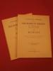 Catalogue raisonné des figurines et reliefs en terre cuite grecs et romains, 2 tomes, partie 2 Myrina. Simone Mollard Besques