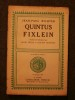 Quintus Fixlein. Jean Paul Richter