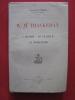 W. M. Thackeray, l'homme, le penseur, le romancier. Raymond Las Vergnas