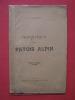 Phonétique du patois alpin. F. N. Nicollet
