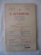 L'Auvergne littéraire artistique et historique, n°88. collectif