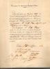 Nomination de l'Abbé Duru comme membre de la société de Conservation des Monuments Historiques de France.. CAUMONT Arcisse de