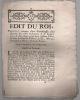 portant création d'une Sénéchaussée dans chacune des villes d'Avignon & de Carpentras …. Édit du Roi