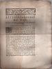 en faveurs des Consuls et habitants de la ville d'Avignon & Comté Venaissin. Lettres patentes du Roi